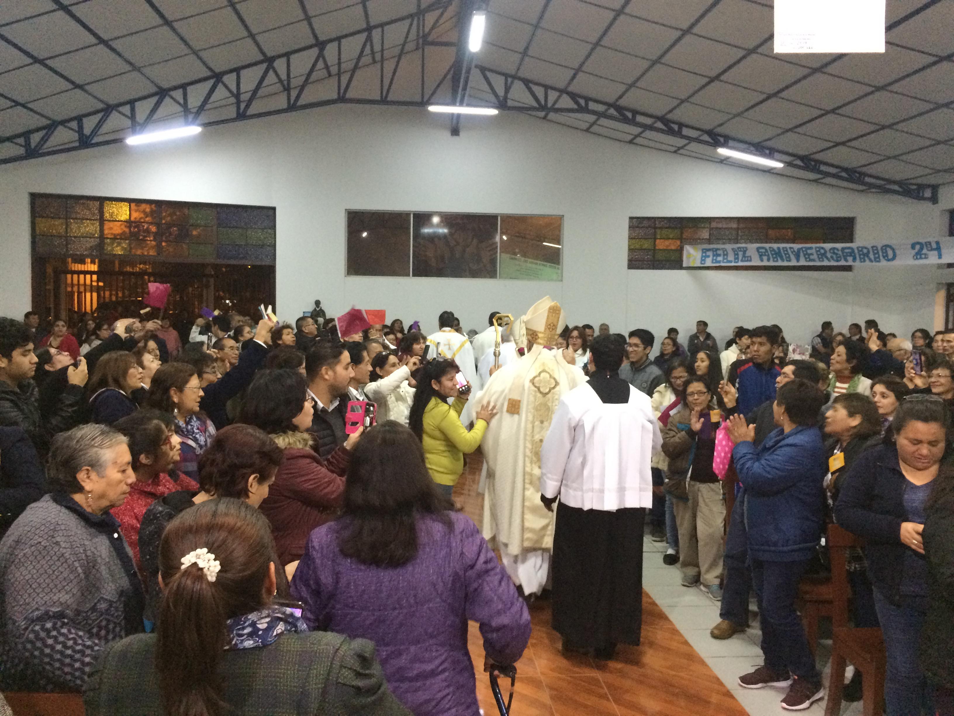 Celebración del aniversario de Nuestra Señora de las Misiones
