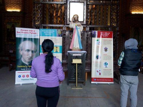 Familia palotina en el Perú celebra a su santo fundador con una exposición itinerante