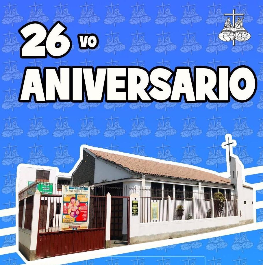 26 años de servicio misionero