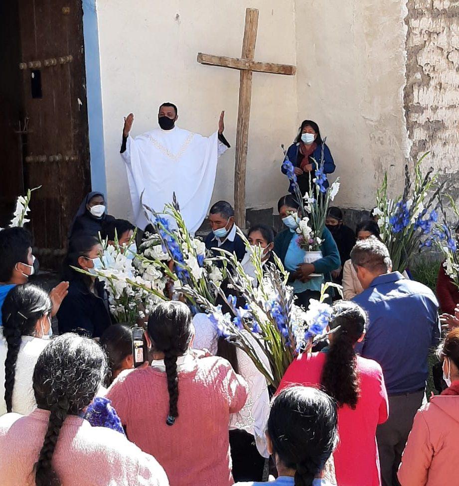 Padres palotinos retoman de modo progresivo las visitas pastorales