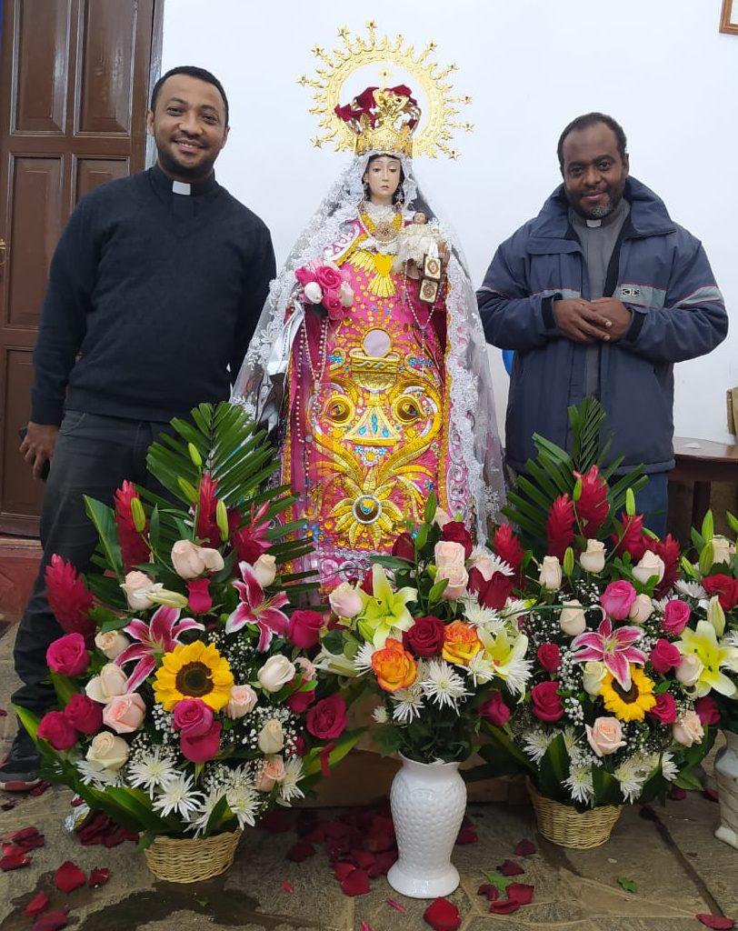 Familia palotina en el Perú vivió la fiesta de nuestra señora del Carmen